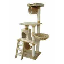62 Boston Cat Tree by Kitty Mansions