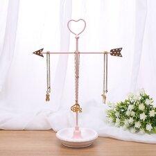 Metal Arrow Jewelry Display and Jewelry Stand Hanger Organizer