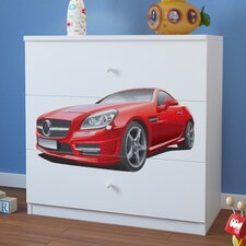 Mercedes 3 Drawer Chest of Drawers