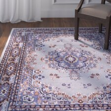 Lilly Gray/Blue Area Rug