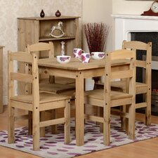 Harold Parker Dining Set with 4 Chairs