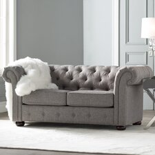 Augustine Tufted Chesterfield Loveseat
