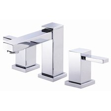 Reef Double Handle Mini Widespread Bathroom Faucet
