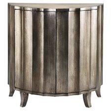 Cosmopolitan 2 Door Demilune Cabinet by Stein World