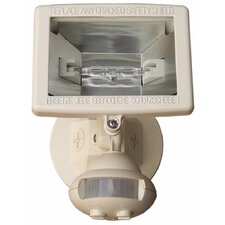 Motion Activated Lights 1-Light Outdoor Floodlight