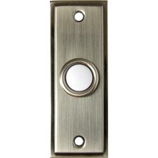 Lit Decorative Pushbuttons in Pewter