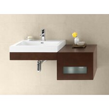 Adina 41 Single Wall Mount Bathroom Vanity Set by Ronbow