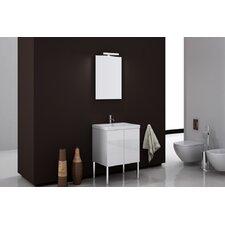 Space 24 Single Bathroom Vanity Set with Mirror by Iotti by Nameeks