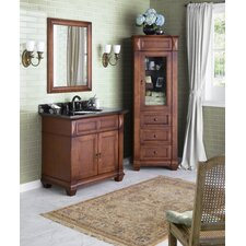 Torino 36 Bathroom Vanity Cabinet Base in Colonial Cherry by Ronbow