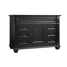 Torino 48 Bathroom Vanity Cabinet Base in Antique Black by Ronbow