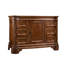 Le Manns 48 Bathroom Vanity Cabinet Base in Colonial Cherry by Ronbow