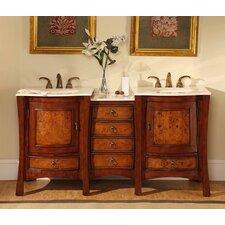 Northampton 67 Double Bathroom Vanity Set by Silkroad Exclusive