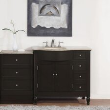 Hamilton 58 Single Bathroom Vanity Set by Silkroad Exclusive