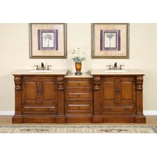 "Montgomery 95"" Double Bathroom Vanity Set"