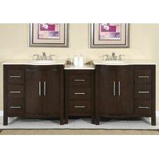 Bissette 89 Double Bathroom Vanity Set by Andover Mills