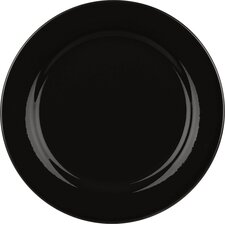 Fun Factory Breakfast Plate in Black (Set of 4)