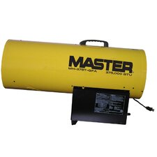 375,000 BTU Portable Propane Forced Air Utility Heater with Thermostat