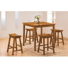 5 Piece Counter Height Pub Set