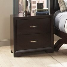 1313 Series 2 Drawer Nightstand by Woodhaven Hill