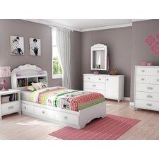 Tiara Twin Platform Customizable Bedroom Set