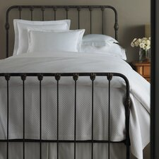 Oxford Tailored Hem Coverlet
