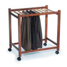 "Pant Trolley 24.75""W Garment Rack"