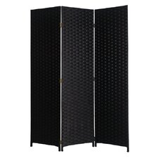 72 x 54 Pensacola 3 Panel Room Divider by Screen Gems