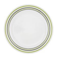 "Livingware 10.25"" Garden Sketch Bands Dinner Plate (Set of 6)"