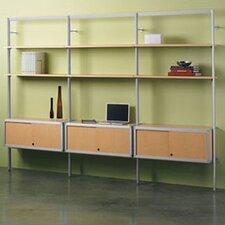 Envision 84 Accent Shelves Bookcase by Peter Pepper