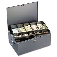 Steelmaster Extra Large Cash Box with Handles