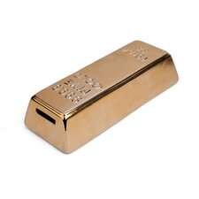 Gold Bar Coin Piggy Bank