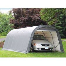 Sheltercoat Round Gray Garage