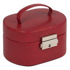 Travel Mini Oval Jewelry Box