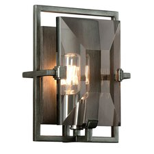 Prism 1-Light Wall Sconce with Glass