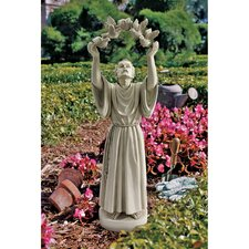 St. Francis's Doves of Peace Garden Statue