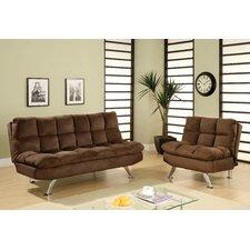 Brooks Convertible Sofa and Chair Set by Hokku Designs