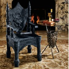 The Dragon of Upminster Castle Throne Arm Chair by Design Toscano