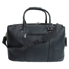 """20"""" Leather European Carry-On Duffel"""