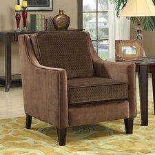 Contrasting Velvet Chair by Wildon Home ®