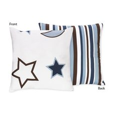 Starry Night Cotton Throw Pillow