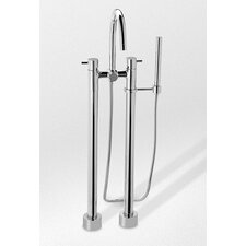 Two-Handle Freestanding Tub Filler by Toto