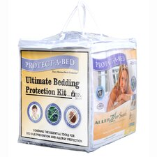 Ultimate/Bed Bug Hypoallergenic Waterproof Mattress Protector Kit