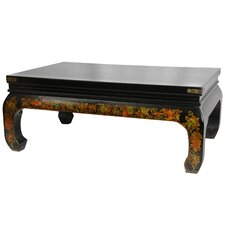 Peaceful Village Coffee Table by Oriental Furniture