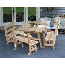 Cedar Union Dining Set by Creekvine Designs