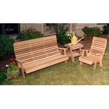 Cedar Twin Ponds Bench and Chair Collection by Creekvine Designs