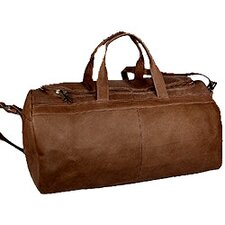"""19"""" Leather Classic Carry-On Duffel"""