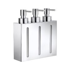 Outline Three Container Soap & Lotion Dispenser