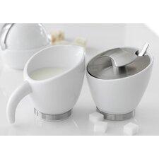 Milano Milk and Sugar Bowl Set