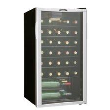 35 Bottle Single Zone Freestanding Wine Cooler