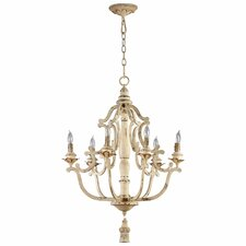 Maison 6-Light Candle-Style Chandelier